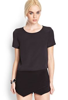 Boxy Woven Top   FOREVER21 - 2000068955