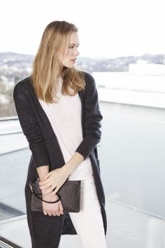 Tricot - Mohair Coat and Lace Linen Top www.deguy.no