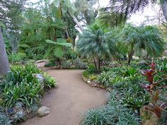 Bromeliad Garden - Lotusland, Montecito, CA  - by Polylepis, via Flickr