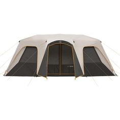 Bushnell Shield Series 18' x 11' Instant Cabin Tent, Sleeps 12