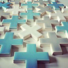 """Modwalls Modwalls Kiln Ceramics 2"""" Plus Tile #tile #crush"""