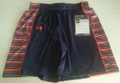 NWT Women Auburn Large Shorts Under Armour NCAA Basketball Team Issued $95.00 #UnderArmour #Shorts