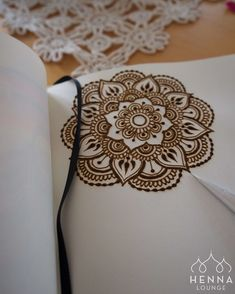 Beautiful henna mandala.