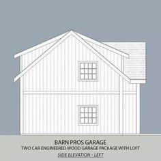 Barn House Kits, Barn House Plans, Shed Plans, Garage Plans, Rv Garage, Barn Houses, Barn Plans, Garage House, Wood Garage Kits