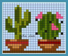 theme fleur - Page 2 Cactus Cross Stitch, Mini Cross Stitch, Cross Stitch Cards, Cross Stitch Samplers, Modern Cross Stitch, Cross Stitch Flowers, Cross Stitch Designs, Cross Stitching, Cross Stitch Embroidery