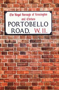 ohpopsi.com : Portobello Road Street Sign In Nothing Hill, London Stock Photo 55248088   <3