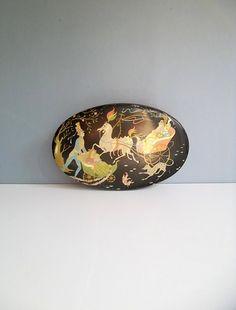 European tin collectable tin old tin decorative by BravaVintage, $35.00