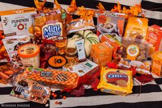 pumpkin pie-spiced products reviewed & ranked...lots of trader joes goodies here