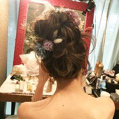 【ウェディング専用髪型】ティアラ?それとも花冠?アイテムを使った 斎藤 菜穂