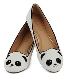 Panda shoes! So cute