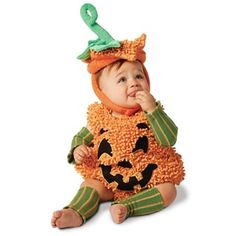 Happy Halloween Pumpkin Infant / Toddler Costume - Infant Costumes