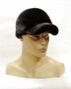 1cb3a9ab809 Mink baseball cap - fur baseball cap