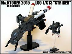"""Striker"" Light Transport/Interceptor   by ExclusivelyPlastic"