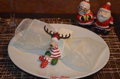 Servilletero navideño en forma de reno #christmas #ideas #navidad #decoration