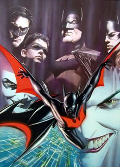 Batman Beyond by Alex Ross