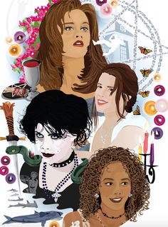 The Craft print, available on Etsy