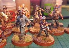 Walking Dead Miniatures (Facebook Source)
