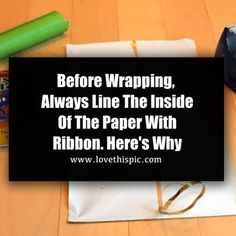 Before Wrapping, Always Line The Inside Of The Paper With Ribbon. Here's Why holiday diy christmas video christmas diy christmas diy ideas viral viral videos viral right now trending viral posts christmas diy videos Paper Bag Gift Wrapping, Wrapping Presents, Paper Gift Bags, Wrapping Ideas, Paper Gifts, Diy Christmas Videos, Christmas Crafts, Christmas Decorations, Gift Wrapping Techniques