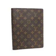 Louis Vuitton Agenda Bureau Monogram Other Brown Canvas R20001