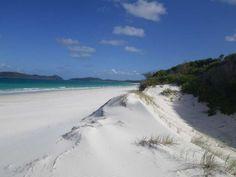 Number 5: Whitehaven Beach, Whitsunday Island, Australia.