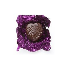 Non-Dairy Purple Leaf Chocolate Truffles ❤ liked on Polyvore featuring filler