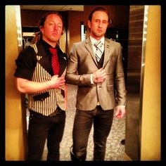 Barry Kerch and Eric Bass from Shinedown. Lookin' good! Photo by bkerchofficial