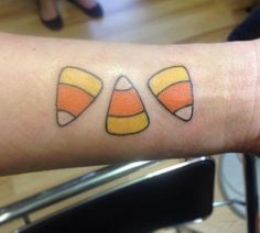 Brittany cloyd brittany7850 on pinterest for Candy corn tattoo