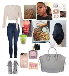 """""""Untitled #265"""" by faith-mula on Polyvore featuring Topshop, Samuji, Zimmermann, Rebecca Minkoff, Gerber, Victoria's Secret, Givenchy and New Look"""
