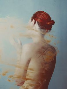 Photography by Flora Borsi. Almost gives the appearance of a surreal, dreamy painting.