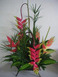 Puerto Rico Flower Shop -Send tropical flowers to Puerto Rico! Tropical Flower Arrangements, Flower Arrangement Designs, Church Flower Arrangements, Church Flowers, Beautiful Flower Arrangements, Flower Centerpieces, Flower Decorations, Beautiful Flowers, Picture Arrangements
