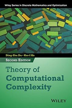 Theory of Computational Complexity (Wiley Series in Discr... https://www.amazon.com/dp/1118306082/ref=cm_sw_r_pi_dp_x_L-63zbAN750GC