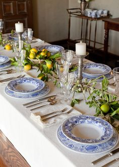 Great Spring tablescape
