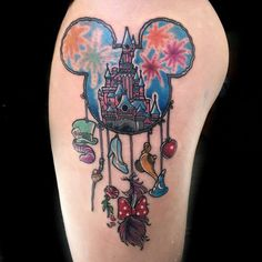 Mickey and Minnie Mouse Tattoo 47