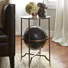 Globe Accent Table