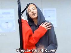 Jungkook version of singularity Namjoon, Jungkook Oppa, Foto Jungkook, Foto Bts, Bts Bangtan Boy, Jungkook Funny, Bts Memes, S Videos, Bts Funny Videos