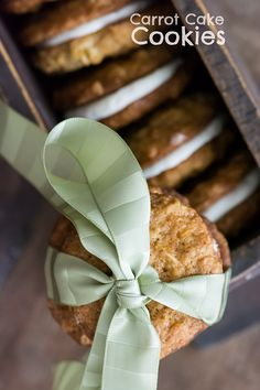 Carrot Cake Cookies - Kailley's Kitchen