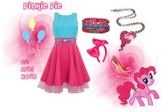 """My Little Pony: Pinkie Pie - Grand Galloping Gala"" by ariel-karin on Polyvore"