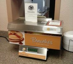 Quality Inn Carolina Pancake Machine