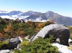 北岳、間ノ岳、農鳥岳が美しい。中道から薬師岳|南アルプス登山ルートガイド。Japan Alps mountain climbing route guide