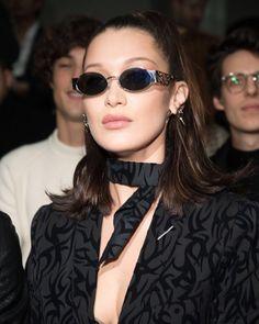 January 20: Bella at the Dior Hommes FW18 show in Paris. @bellahadid @gigihadid #kendalljenner #kendall #bellahadid #bella #kyliejenner #kyliecosmetics #kylie #model #models #sisters #friends #friendship #gigihadid #gigi #hadidsisters #hadid #victorias #victoriasecrets #hadidgigi #zayn #zigi