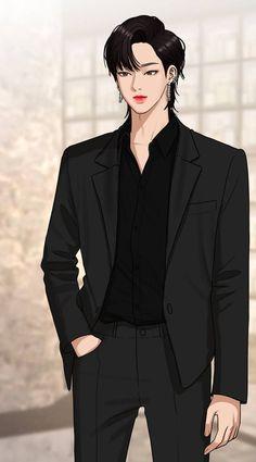 True Beauty Chapter 138 Handsome Korean Actors, Handsome Anime Guys, Korean Boys Hot, Anime Korea, Anime Boy Hair, Korean Drama Best, Kdrama Actors, Cute Actors, Dark Fantasy Art