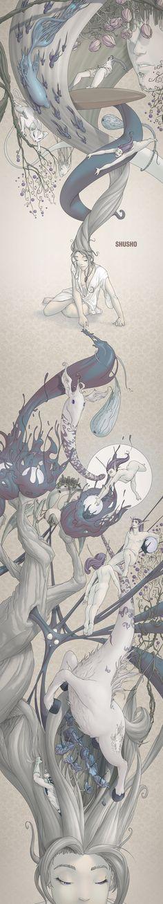 ilustracion relarga by lisandro schurjin, via Behance