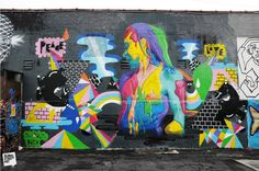 'Peace and Love' Zeh Palito and Dasic ** #StreetArt
