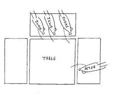Reclining At Table