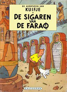 Kuifje - de Sigaren van de Farao