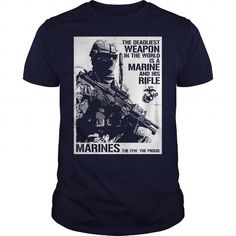 Cool THE DEADLIEST WEAPON Tshirts