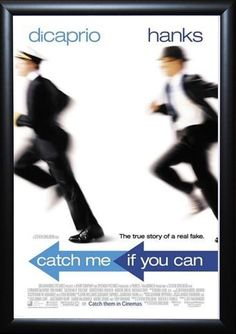 Catch Me If You Can - Signed Movie Poster