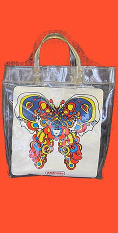 Pop Art Plastic Peter Max Tote Bag