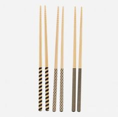 House Doctor Chopsticks (Set of 6 Pairs) House Doctor, Kitchenware, Tableware, Home And Deco, Chopsticks, Beautiful Kitchens, Kitchen Accessories, Decoration, Simple Designs