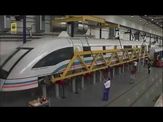 El primer tren levitación magnética maglev - YouTube Magnetic Levitation, Youtube, The World, Homes, Train, Historia, Future Tense